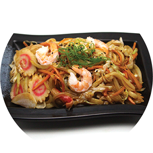N6.	Seafood Fried Udon <br>海鮮炒烏冬 <br>$:14.80