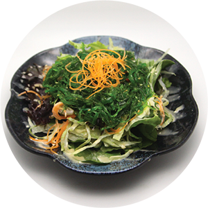 A1.	Seaweed with vegetables salad <br>海帶沙拉 <br>$:5.80