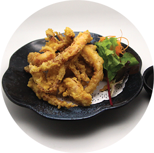 A6.	Japanese Fried Squid <br>炸魷魚鬚 <br>$:7.80