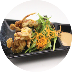 A10.	Fried Soft shell crab <br>炸軟殼蟹 <br>$:9.80